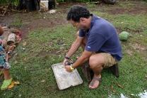 Da Neru preparazione del cocco